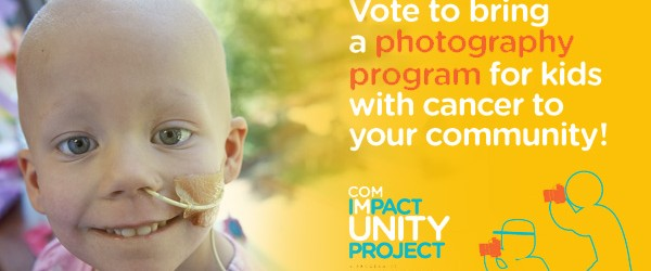 Vote now to support our kids living with cancer