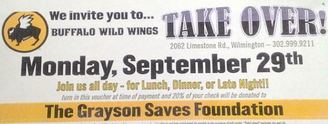 Buffalo Wild Wings TAKE OVER!!!